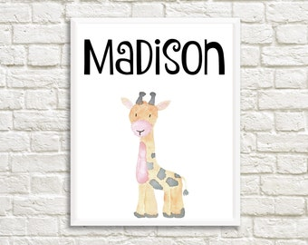 Madison name sign, Madison Name print, Madison artwork, Madison Name art, Madison monogram, Madison print room, Madison print nursery