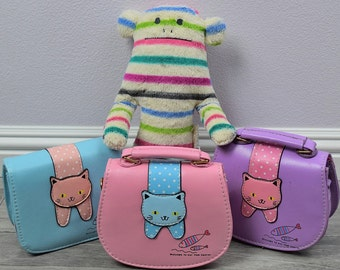 Girl Kitty Sling Purse