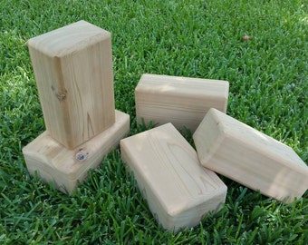 Cedar Yoga Blocks