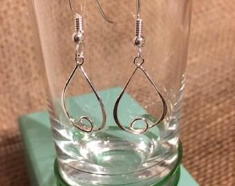 Loopy Loop Sterling Silver Earrings