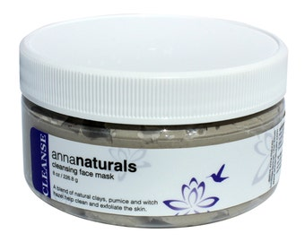 Cleansing + Exfoliating Natural Face Mask