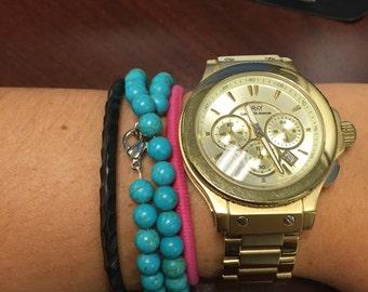 Double wrap bracelet