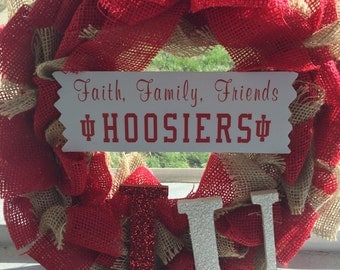 Hoosier wreath