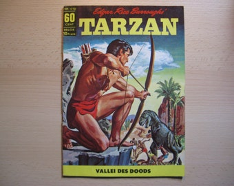 An old Classics comic book nr 1212 Edgar Rice Burroughs: Tarzan Valley of death