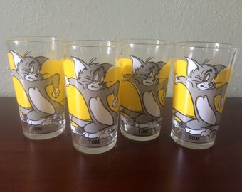 Tom and Jerry Pepsi Collector Series Glasses
