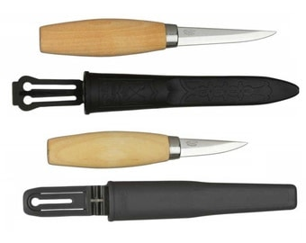 Mora 106 & 120 Wood Carving Knife Set - Made in Sweden