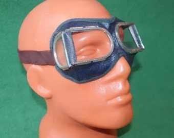 Vintage Soviet Russian Safety Goggles Glasses Motorcycle Russia USSR