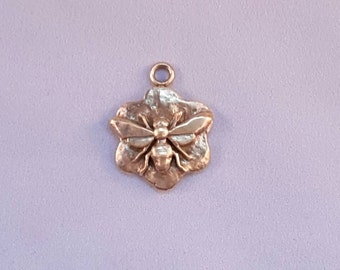Bronze Bee Pendant