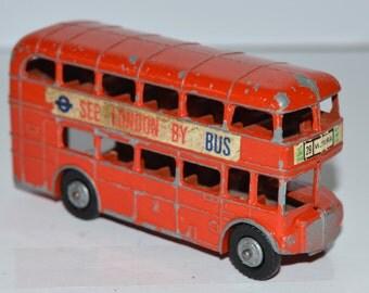 Budgie London Routemaster Double Decker bus No 236 1960-1966