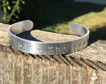 Custom handstamped Bracelet.