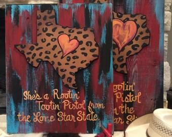 Rootin Tootin Pistol Signs