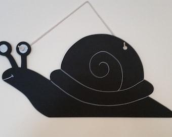 Hanging Snail chalkboard