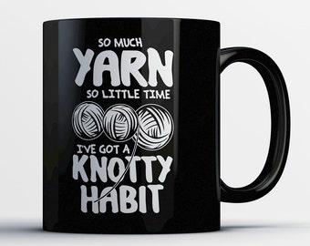 Yarn Gift - Yarn Lover Mug - Gifts for Knitters - Crocheter Coffee Cup