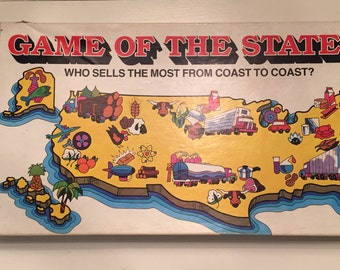 1979 Vintage Game of The States by Milton Bradley No 4920