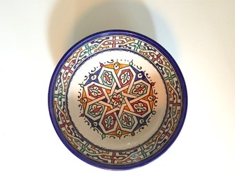Small Ceramic Salad Bowl
