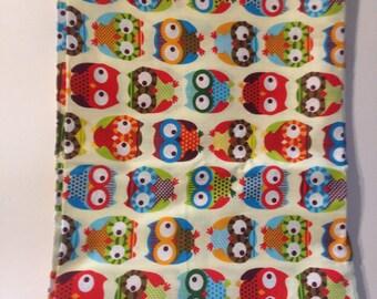 Fabrics cotton owls OWL