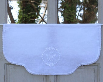 Valance embroidery manufacture custom-made French