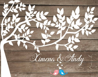 Wedding guest book alternative, wedding guest book alternative tree, rustic guest book wooden guest book wedding guest book ideas guest tree