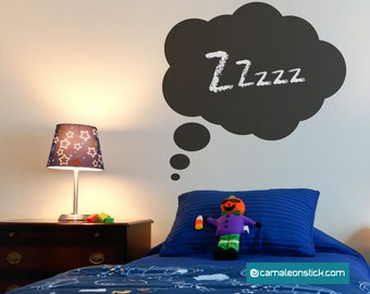 Comic adhesive Whiteboard-cloud wall stickers for children