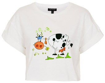 Cow T-shirt for Girl