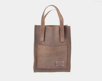 Shopper Bag cognac/cognac