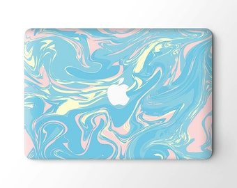 MacBook Top Skin Vinyl Sticker Cover Laptop Skin Decal-Blue Paint