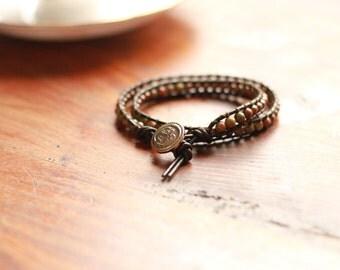Chan Luu style wrap bracelet