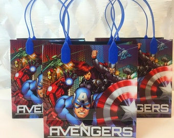 Avengers Captain America Treat Bag 12 ct