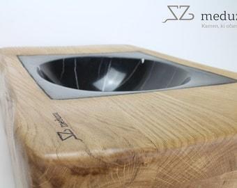Wood-stone sink ( meduzza)