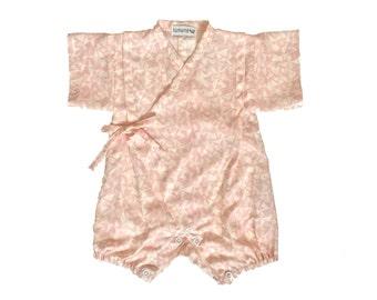Baby kimono, rompers jinbei, KOBUTA, fabric by Atelierbrunette