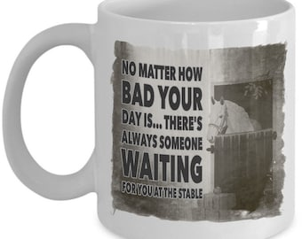 Horse Coffee Mug - Horse Gift For Horse Lovers - Horse Lovers Gifts For Girls