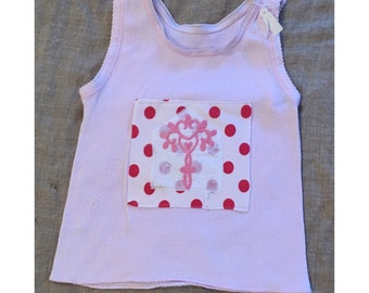 tank top kids,handmade,toddler  tops,toddler gift,baby tops,vintage baby,vintage clothing,baby clothing,girls clothing,christmas gift her