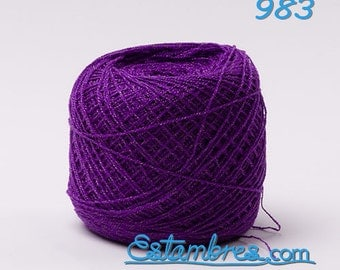 Estambre Crystal, Crochet Thread Yarn