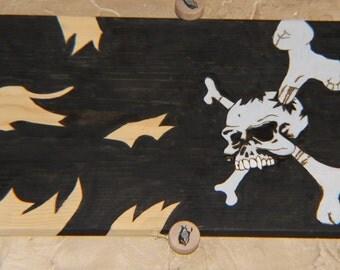Custom made pirate sign