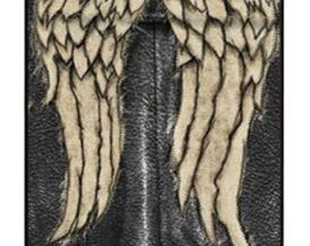 Leather Angel Wings iPhone case