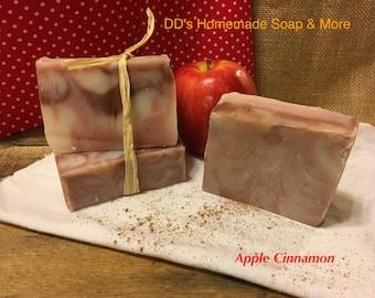 Homemade Apple Cinnamon Soap