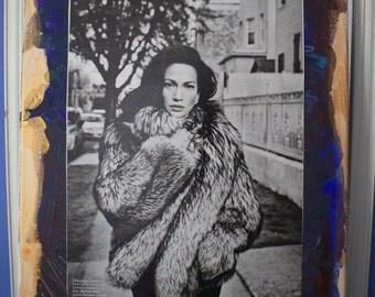 Jennifer Lopez 11 X 14 Canvas