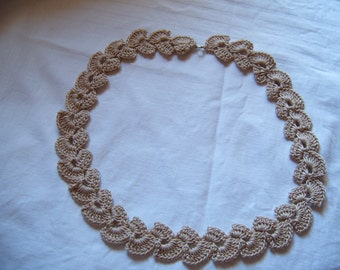 Crochet chain in different colors