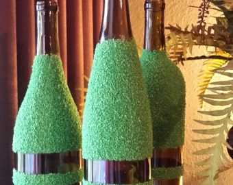 Stunning Decorated Wine Bottles