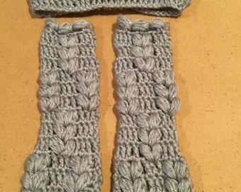Ear warmers & Fingerless gloves