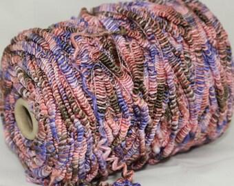 Hasegawa silk boucle yarn on cone, hand knitting yarn,  per 100g