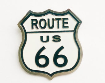 Route 66 pin handmade