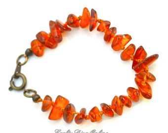 """Baltic Amber """"Teething"""" Bracelet/Anklet for Children"""