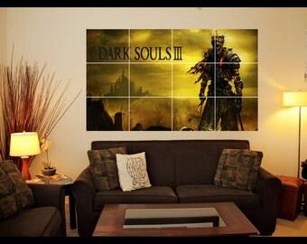 Playstation/Xbox Dark Souls 3 Wall Art