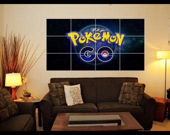 Pokemon Go Wall Art Poster