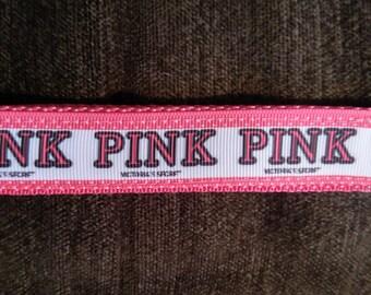 Key Fob Wristlet- PINK 01