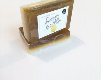 Handmade Lemon & Milk Soap