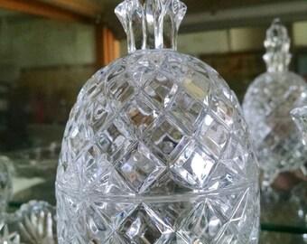 Pineapple, crystal, very heavy