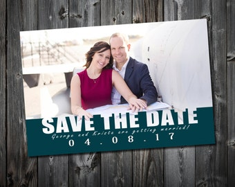 Save the Date, Personalised Digital File