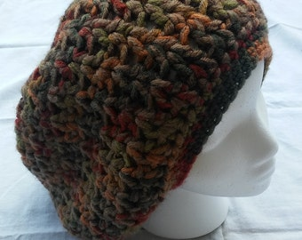 Slouchy fall hat